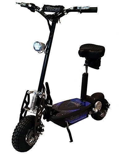 Super-Cycles-Scooters-Black-Super-Turbo-1000watt-Elite-36v-Electric-for-Adults