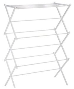 AmazonBasics-Foldable-Drying-Rack-White
