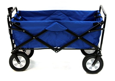 Mac-Sports-Collapsible-Folding-Outdoor-Utility-Wagon-Blue