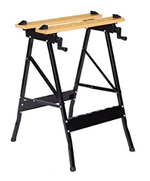 Multi-Purpose-Folding-Workbench-and-Vice-Portable-Work-Table-Sawhorse-with-Quick-Clamp-Pegs-and-Tool-Holders-for-Carpenter-Builder
