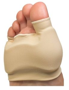NatraCure Double Bunion Gel Sleeve Forefoot Cushion One Piece