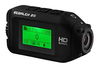 Stealth-2-Sports-Action-Camera-by-Drift-Action-Shot-Camera-Includes-Universal-Clip-for-use-as-POV-Camera-or-Helmet-Camera