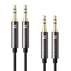 ivanky-Aux-Cables-AUX-Cable-AUX-Cord-2-Pack-4ft-1.2M-Copper-shell-Hi-Fi-Sound-Quality