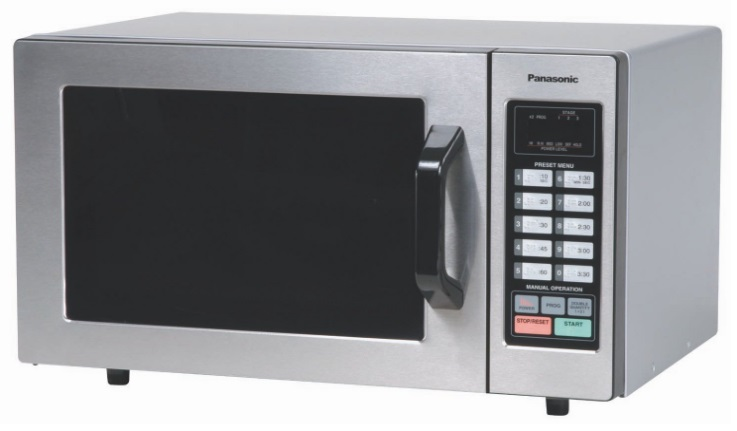 Stainless-Steel-Commercial-Microwave-Oven