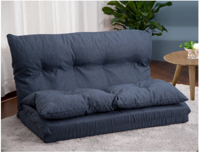 Merax-Adjustable-Fabric-Folding-Chaise-Lounge-Sofa-Chair-Floor-Couch