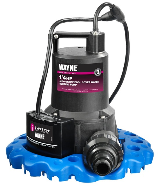 quarter hp water pump Automatic ON OFF Water Removal Pool Cover Pump