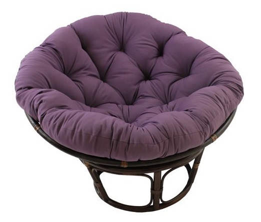 Rattan-Papasan-Chair-with-Solid-Twill-Cushion