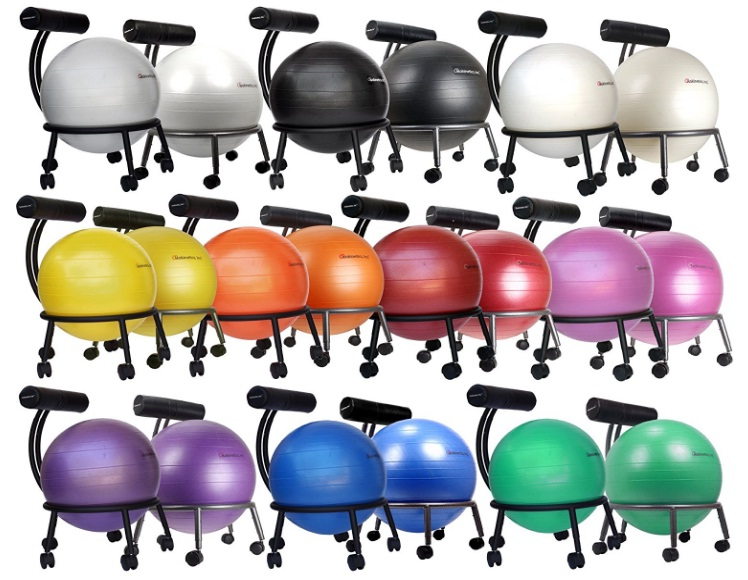 Best Adjustable Fitness Ball Chair