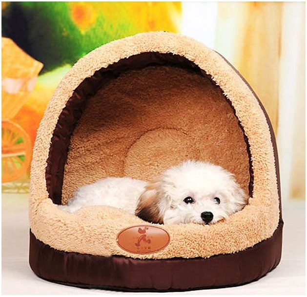 Deluxe-Soft-Pets-Bed-Dog-Puppy-Cat-Kitten-Bed-House-Sleeping-Warm-Mat-Cave-Igloo