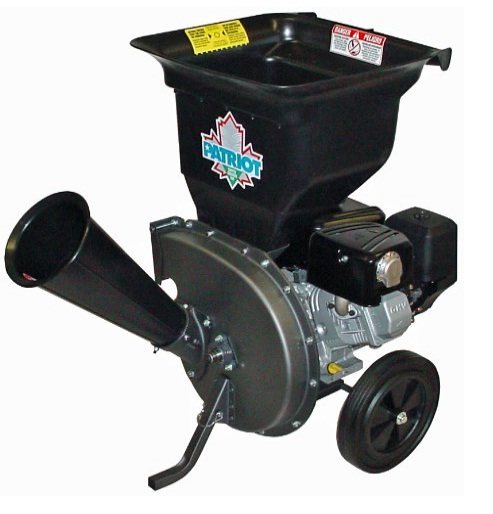 Gas Powered Wood Chipper Leaf Shredder