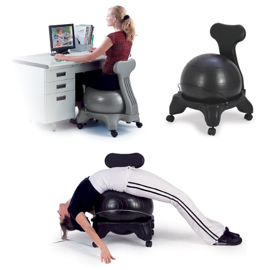 Health-and-Fitness-Balance-Fit-Chair-with-ball-and-pump