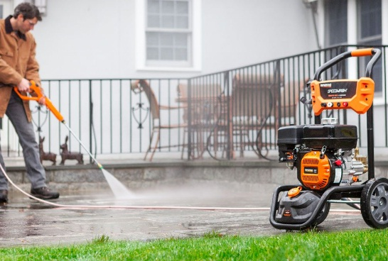 Generac-Gas-Powered-Pressure-Washer-System-with-Attachments