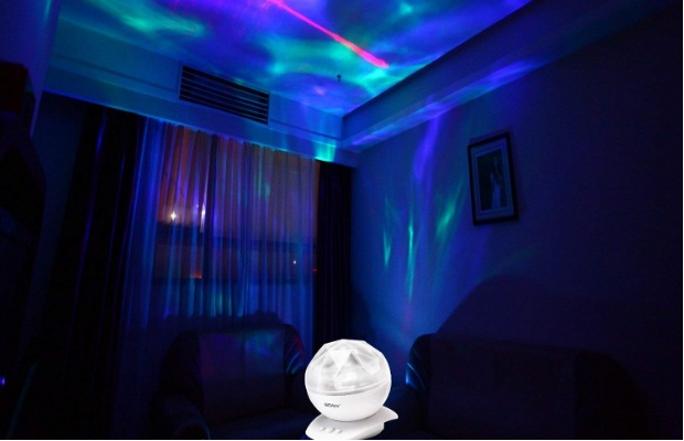 SOAIY-Rotation-Sleep-Soothing-Color-Changing-Aurora-Night-Light-Projector-with-Build-in-Speaker