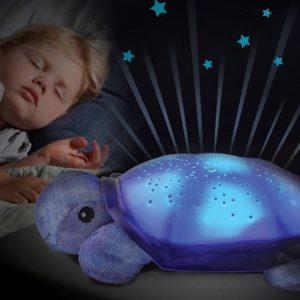 Sleeping-Turtle-Twilight-Constellation-Nursery-Ceiling-Light-with-Loud-Music-Sleep-aid-USB-Powered-Plush-Nightlight-Projector-Star