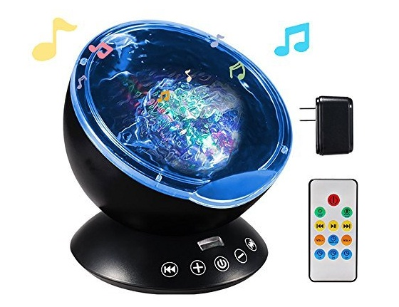 TOTOBAY-Remote-Control-Ocean-Wave-Projector-12-LEDs-7-Color-Changing-Modes-Night-Light-and-Built-in-Mini-Music-Player-for-Living-Room-and-Bedroom