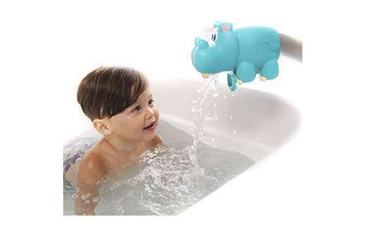 Nuby-Hippo-Spout-Guard-Blue