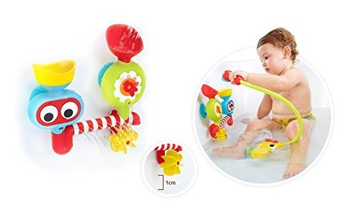 Yookidoo-Bath-Toy-Submarine-Spray-Station-Battery-Operated-Water-Pump-with-Hand-Shower