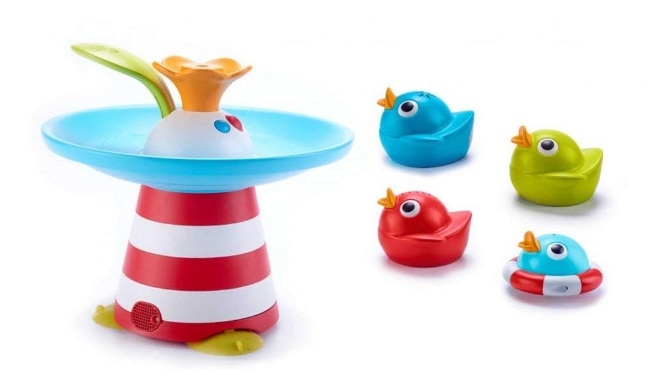 Yookidoo Musical Duck Race Baby Bath Toy