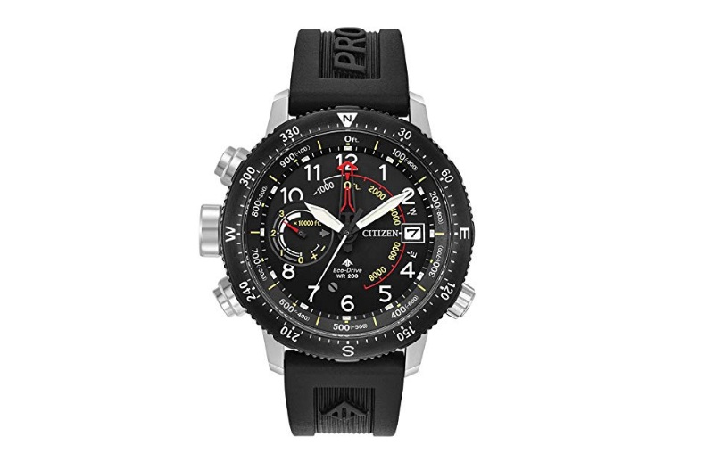 mens-citizen-eco-drive-promaster-altichron-black-polyurethane-strap-and-black-dial-watch-bn5058-07e