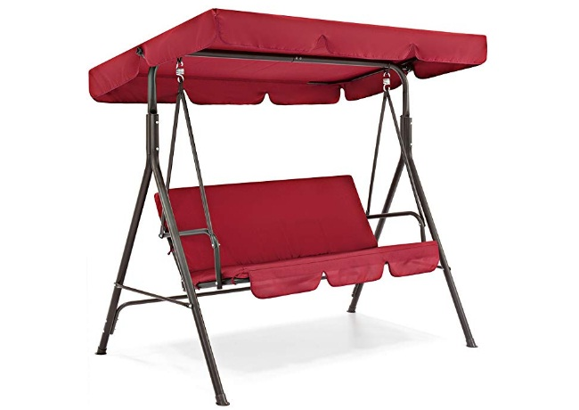 2-Person-Outdoor-Large-Convertible-Canopy-Swing-Glider-Lounge-Chair-with-Removable-Cushions