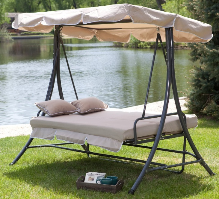 3-Person-All-Weather-Swing-Bed-with-Toss-Pillows