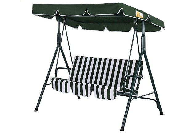 3-Seater-Hammock-Cushioned-Swing-Chair-Outdoor-Bench-Seat