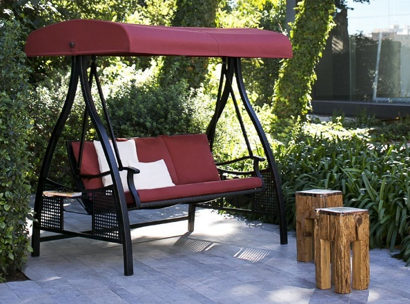 Abba-Patio-3-Person-Outdoor-Metal-Gazebo-Padded-Porch-Swing-Hammock-with-Adjustable-Tilt-Canopy