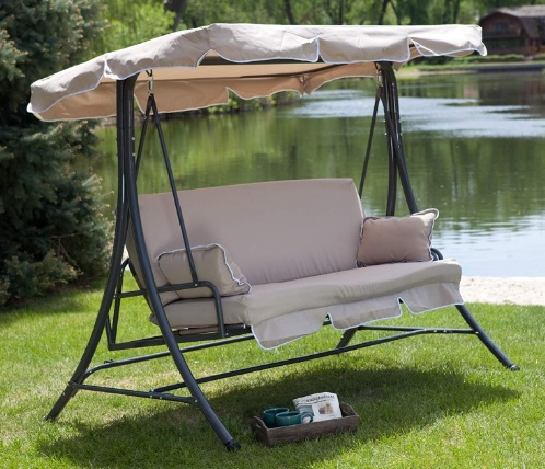 Canopy-Patio-Porch-3-Person-Swing-Lounger-Chair-and-Bed-Cappuccino