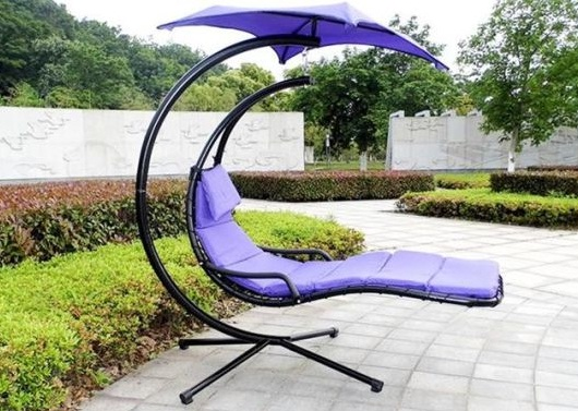 Outdoor-Swing-with-Hammock-Chair-and-Canopy