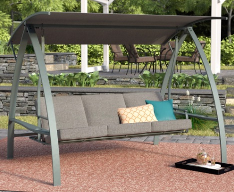 wooden-bench-swing-with-canopy