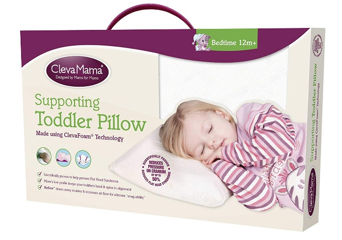 Clevamama-Hypoallergenic-Foam-Toddler-Pillow-Review