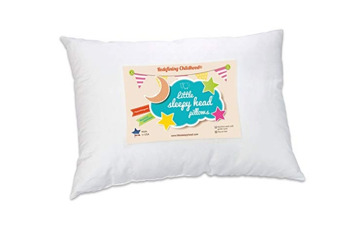 Little-Sleepy-Head-Toddler-Pillow-White