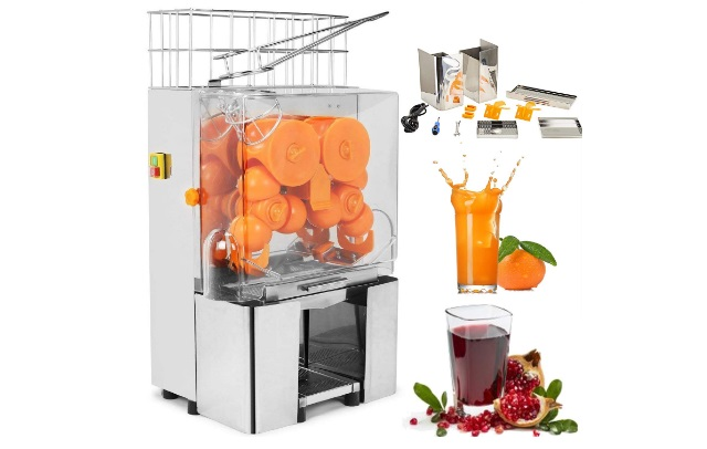 VEVOR-Commercial-120W-Juicer-Orange-Juice-Machine-Stainless-Steel-tank-Stainless-Steel-tank
