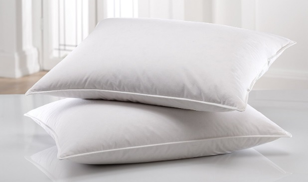east-coast-bedding-100-white-down-pillow-100-cotton-fabric-550-fill-power