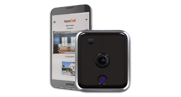 Wi-Fi-Enabled-HD-Video-Doorbell-with-Two-way-Audio