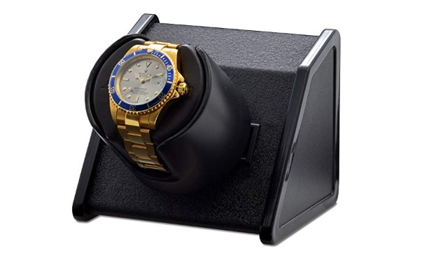 orbita-sparta-bold-black-single-watch-winder