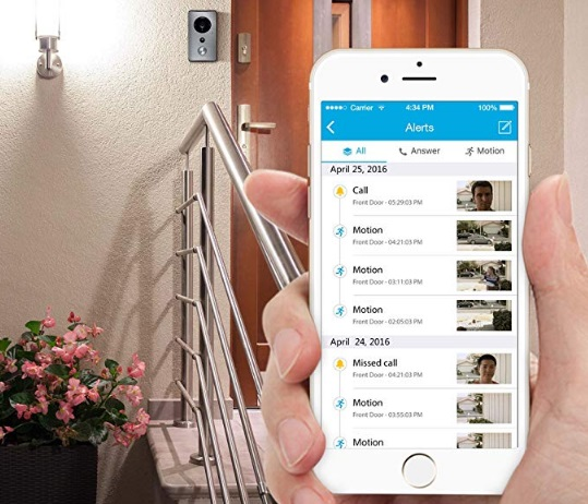 Best 10+ WiFi Wireless Enabled Video Doorbell Camera 2019