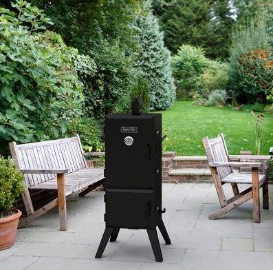 dyna-glo-vertical-offset-charcoal-smoker-review