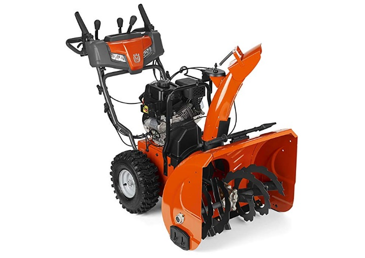 husqvarna-st224p-24-inch-208cc-two-stage-gas-snow-blower-with-power-steering-and-electric-start