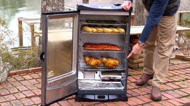 masterbuilt-30-inch-outdoor-barbecue-digital-electric-bbq-meat-smoker-grill