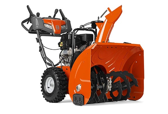two-stage-gas-snow-blower-with-power-steering