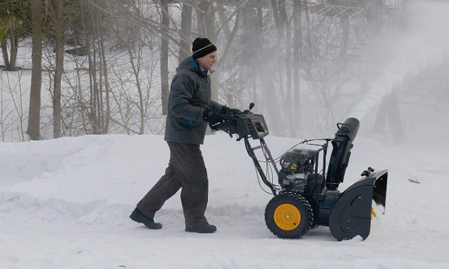 two-stage-snow-thrower-with-electric-start