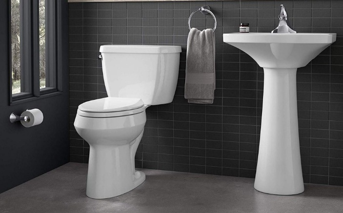 best kohler toilet for small bathroom