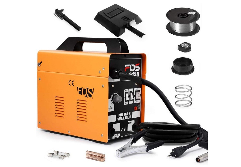 goplus-mig-130-welder-flux-core-wire-automatic-feed-welding-machine
