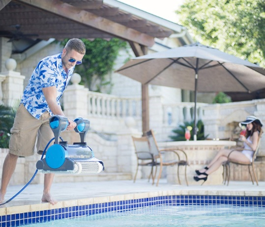 dolphin premier robotic pool cleaner reviews