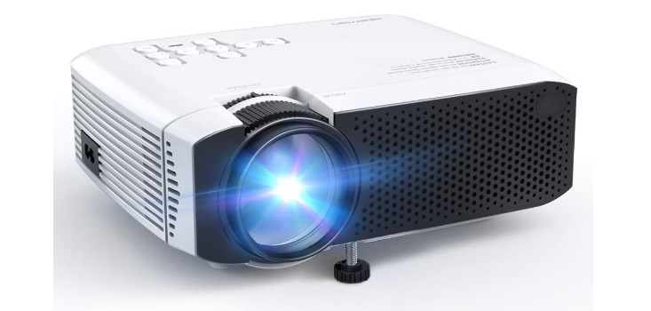 APEMAN Mini Portable 3500L Video Projector LED with Dual Speakers