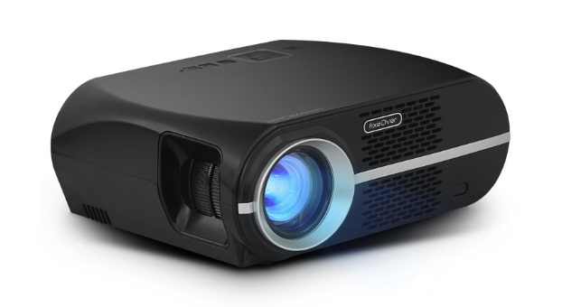 home theater living room projector