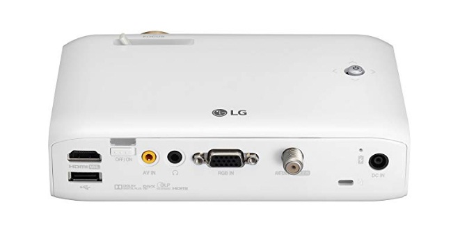 lg - minibeam ph550 720p dlp projector review