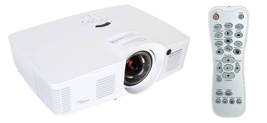 optoma eh200st short throw projector