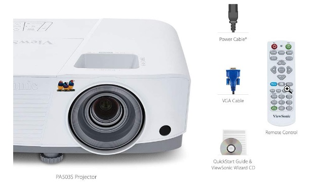 viewsonic projector 3600 lumens